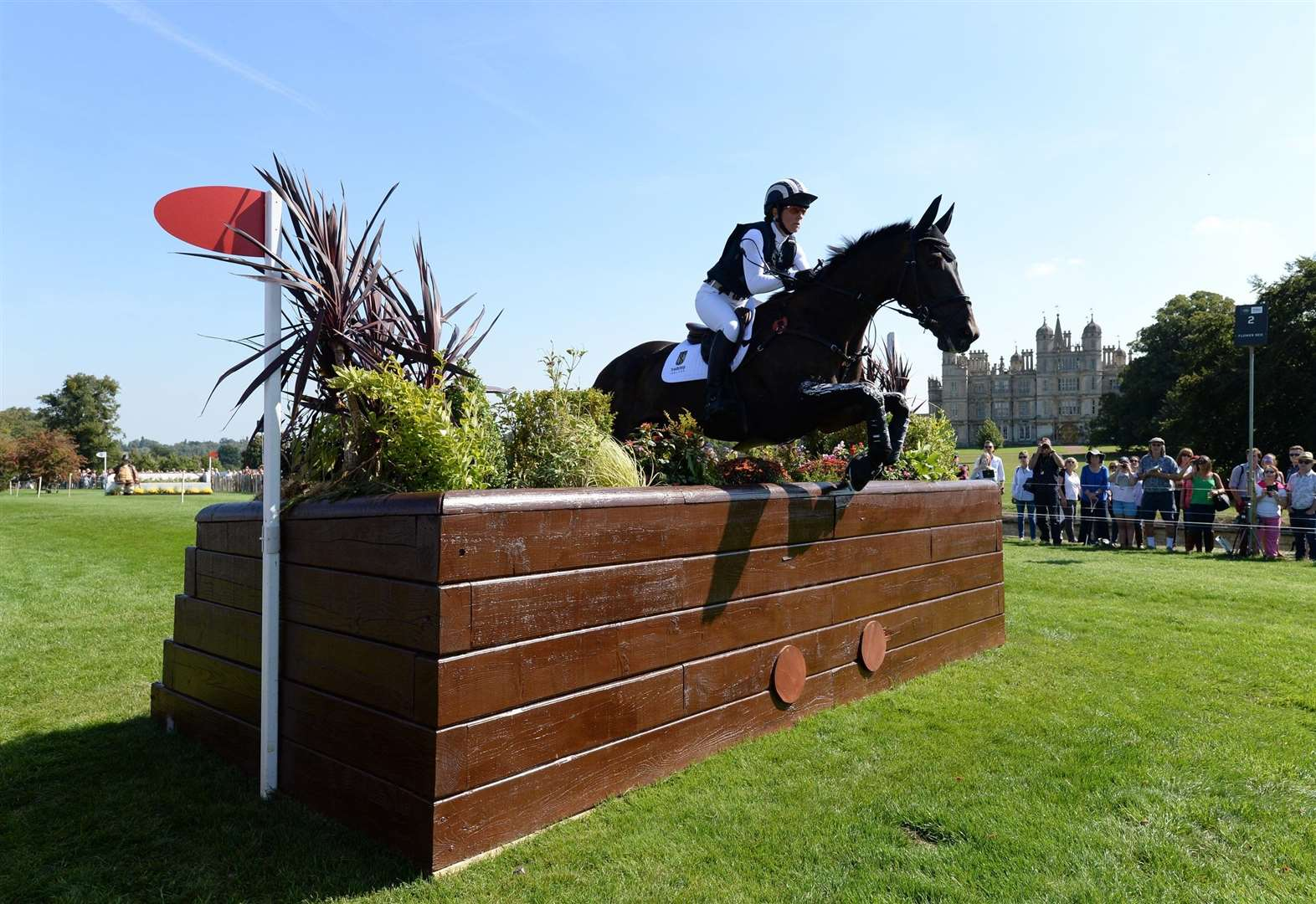 Powell's horse recovers well at Burghley showpiece