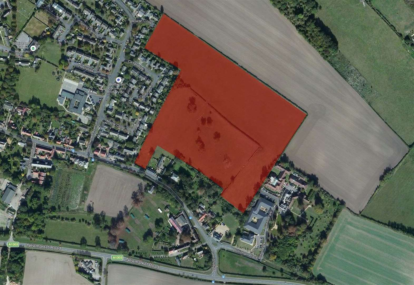 Consultation set to be held into plans to build 250-house retirement village in Bottisham