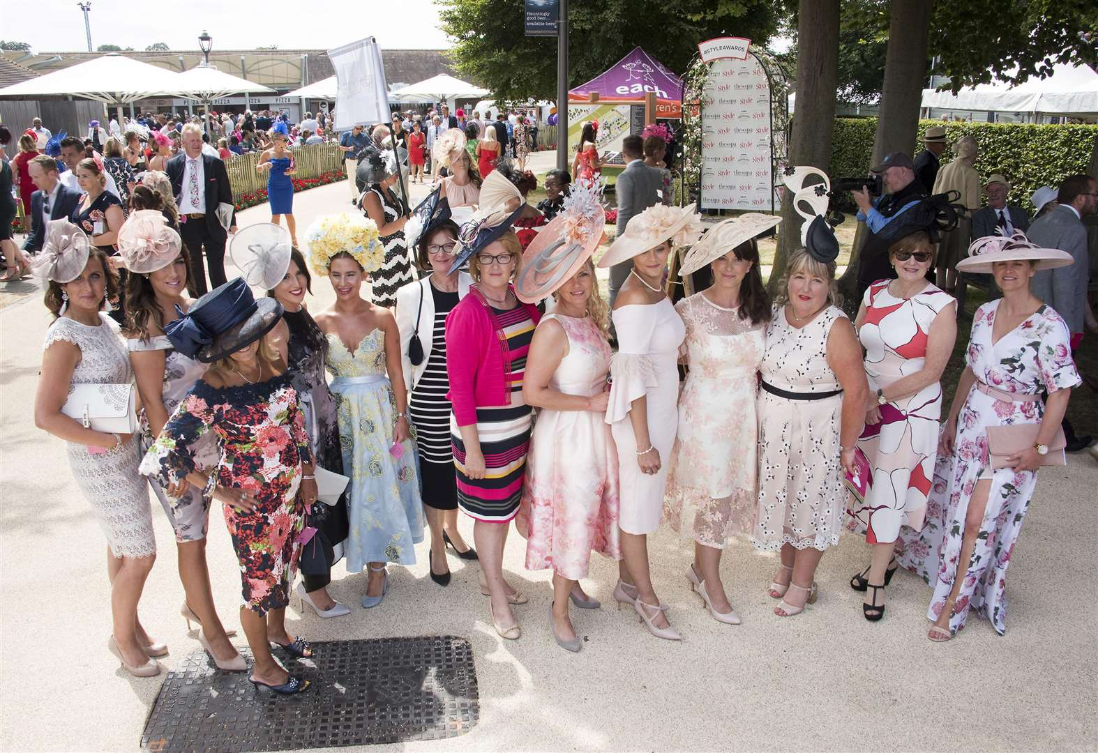 Fair ladies put on the style at Newmarket's July Course