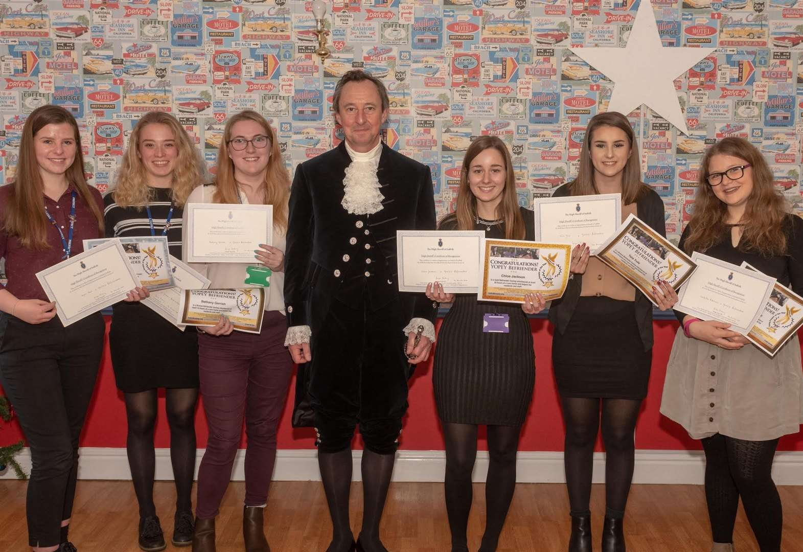 High Sheriff rewards Great Cornard students for volunteering efforts