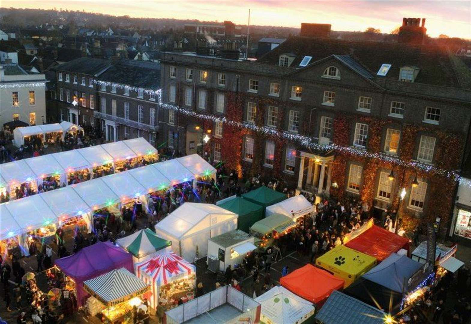 All you need to know about the Christmas Fayre in Bury St Edmunds