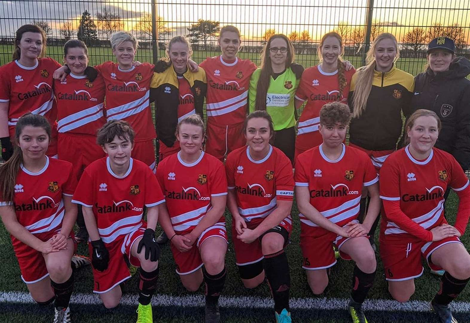 Ladies rack up biggest victory at Cambourne