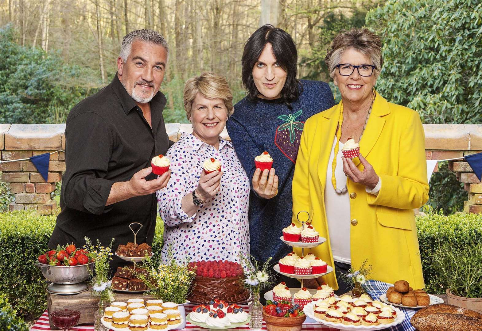 Great British Bake Off's Prue Leith heads to Newmarket to sign copies of her latest recipe book