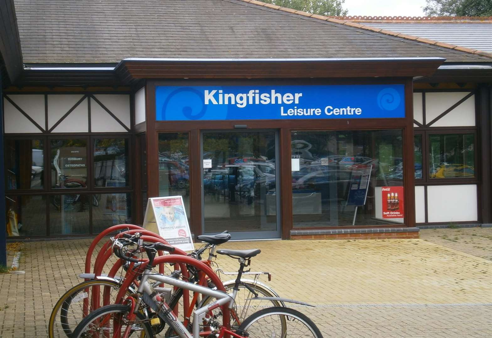 Kingfisher Leisure Centre in Sudbury disrupted due to leak caused by roof lead theft