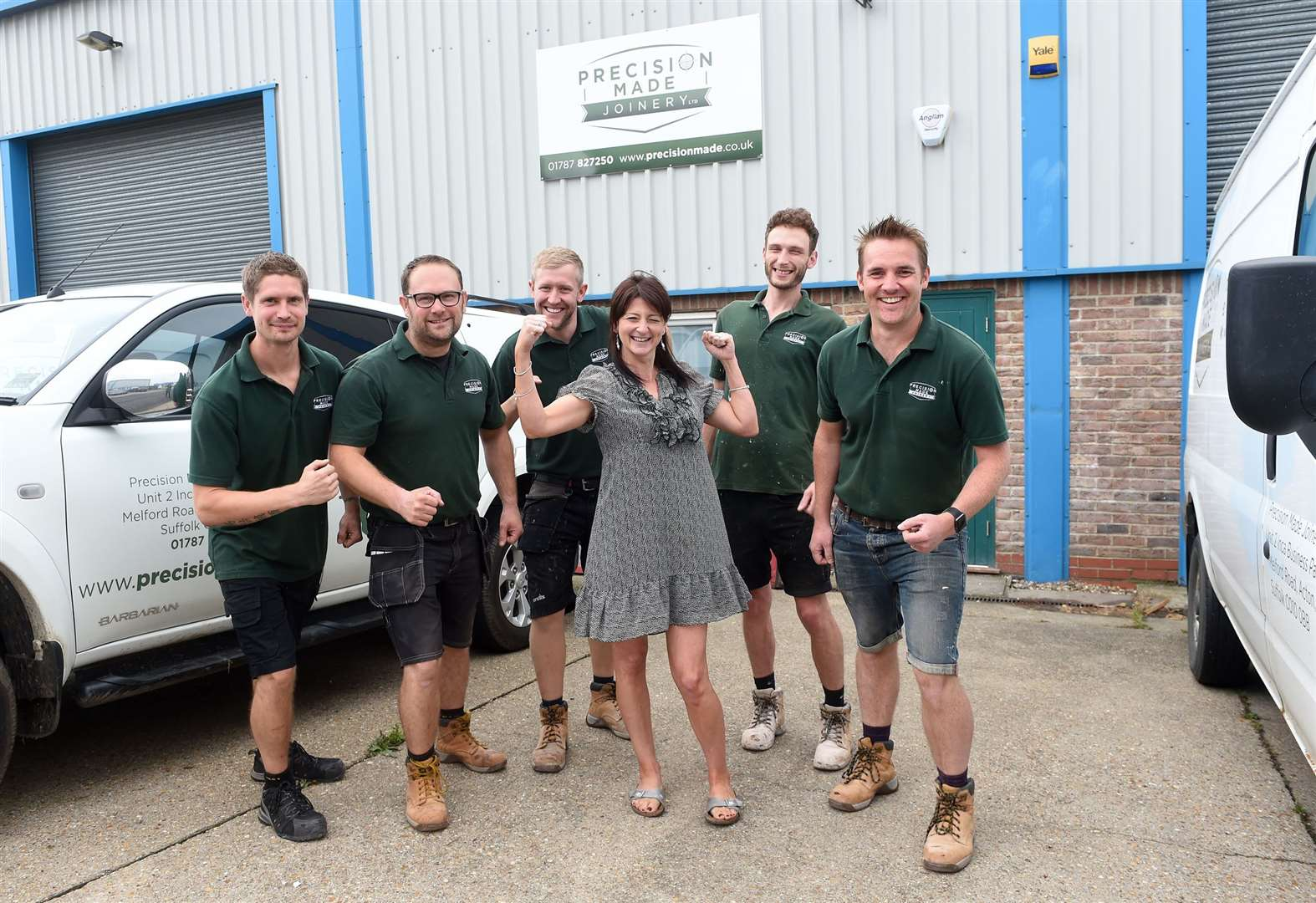 Acton business raring to go on mud run to raise £1,500 for West Suffolk Hospital