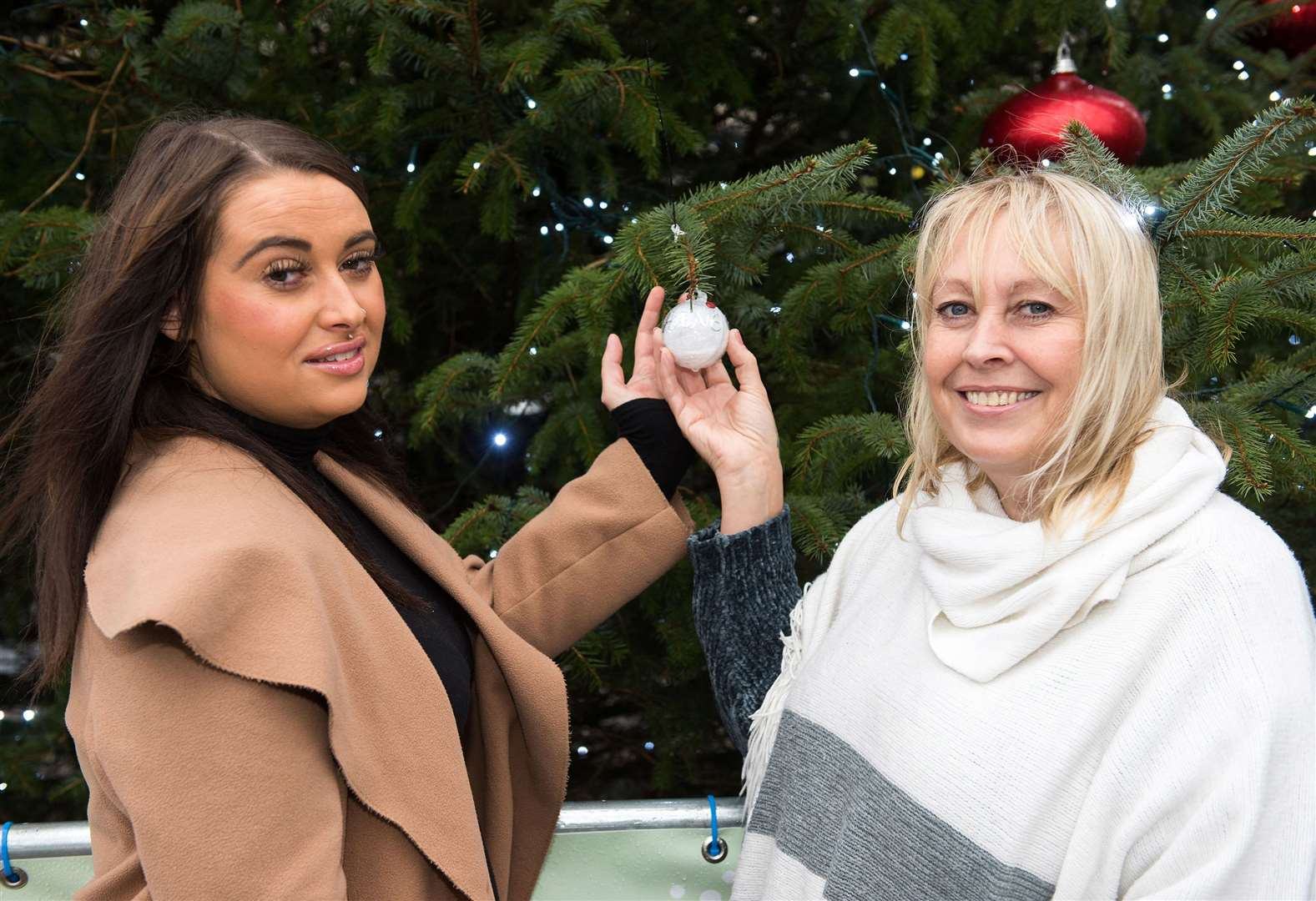 Woman's Christmas wish is granted with memory tree in Sudbury to remember loved ones