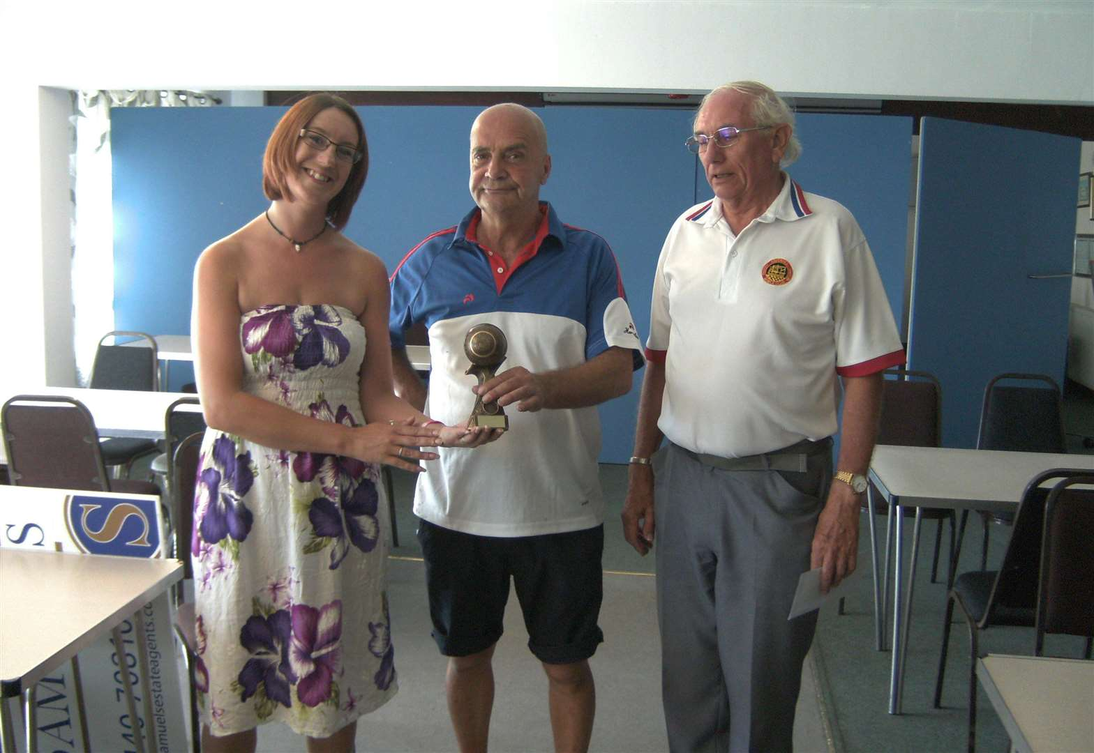 Bowls club enjoys summer with sponsored pairs event