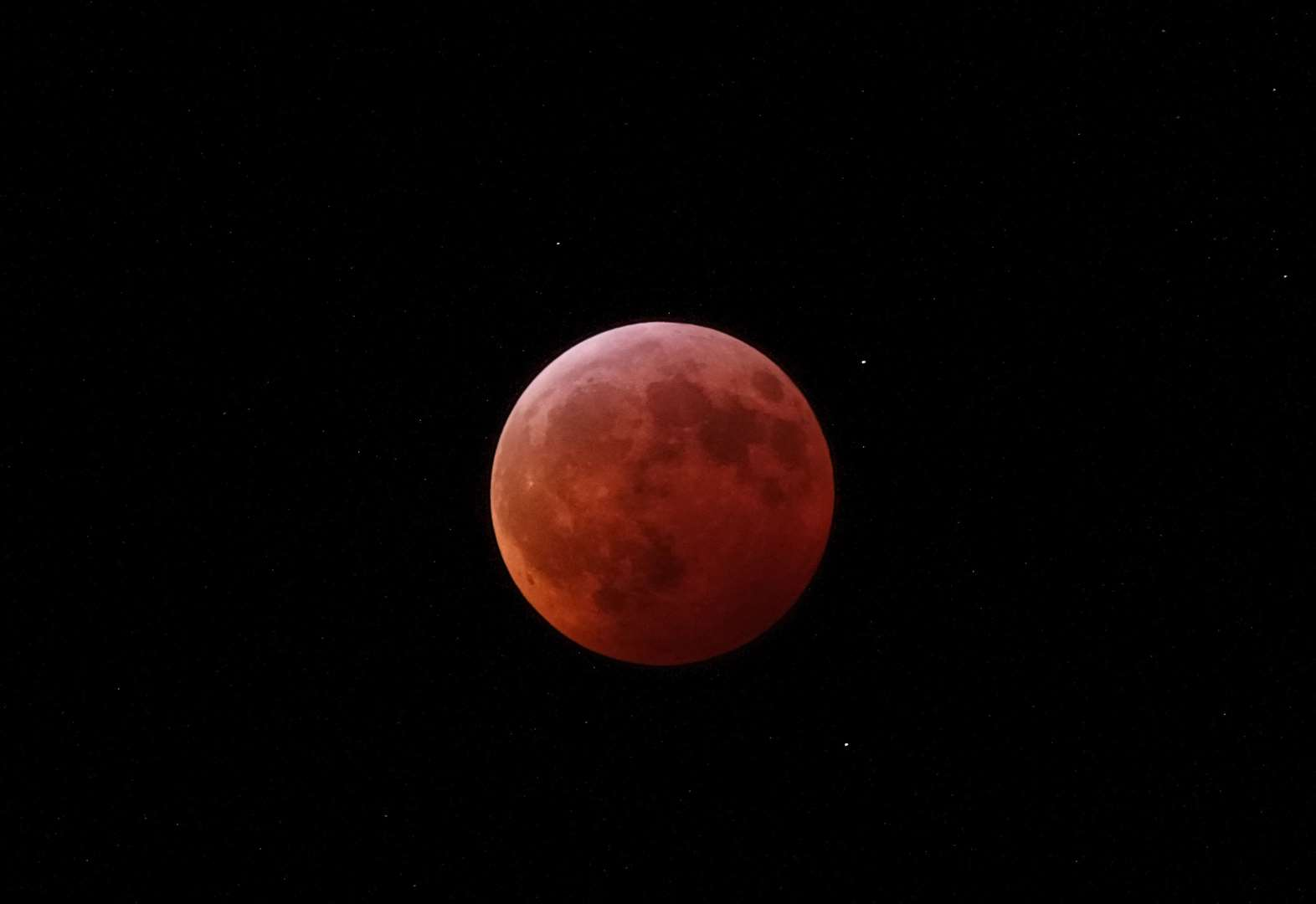 Partial lunar eclipse may be seen from in and around Newmarket