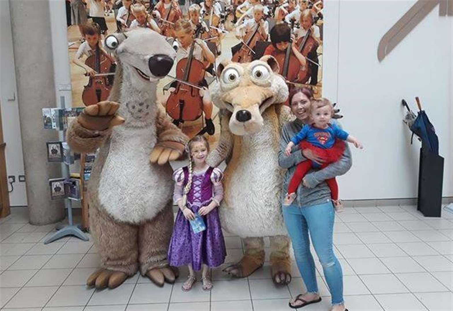 Arc shopping centre travels back to ice age