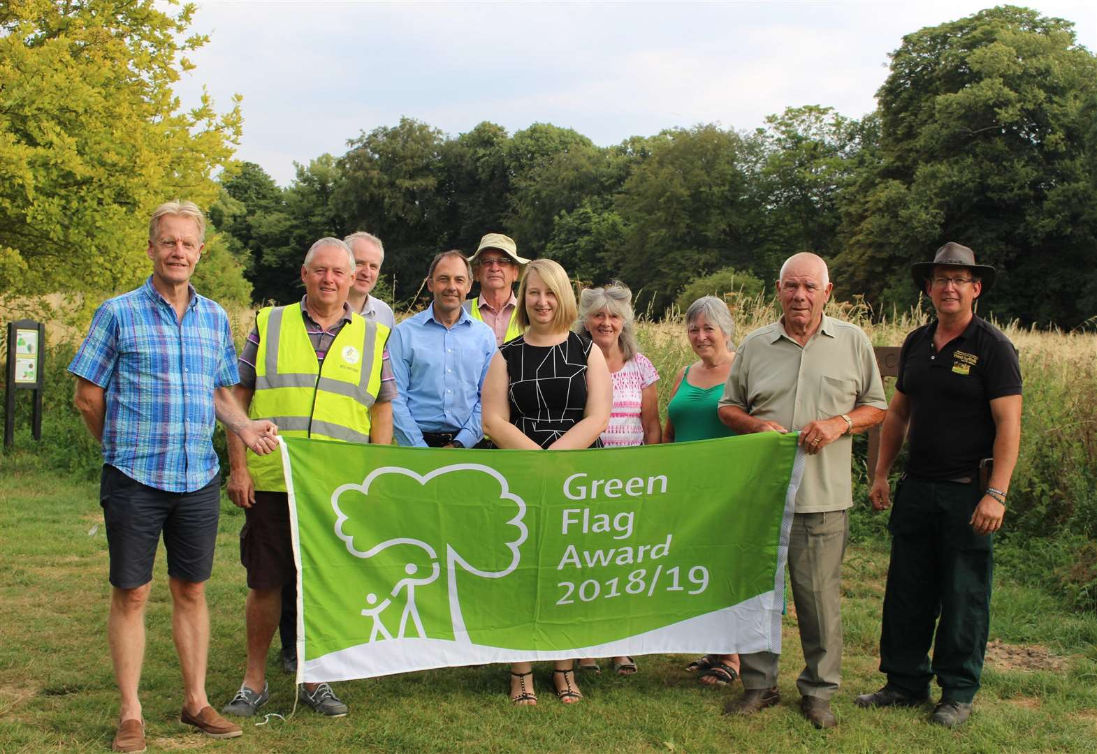 Haverhill park retains its Green Flag status
