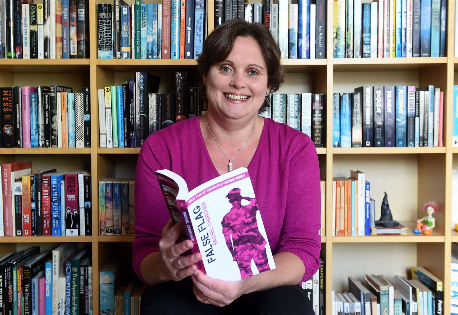 How Bury author Rachel Churcher topped the Amazon chart without a publisher