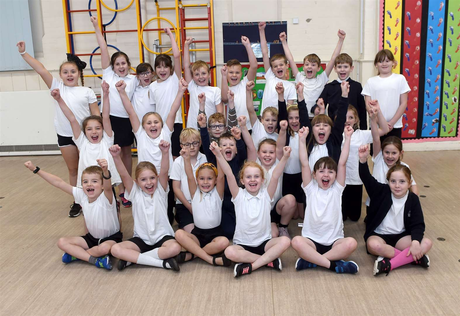 PICTURES: Interactive fitness sessions provide key skills for Glemsford pupils