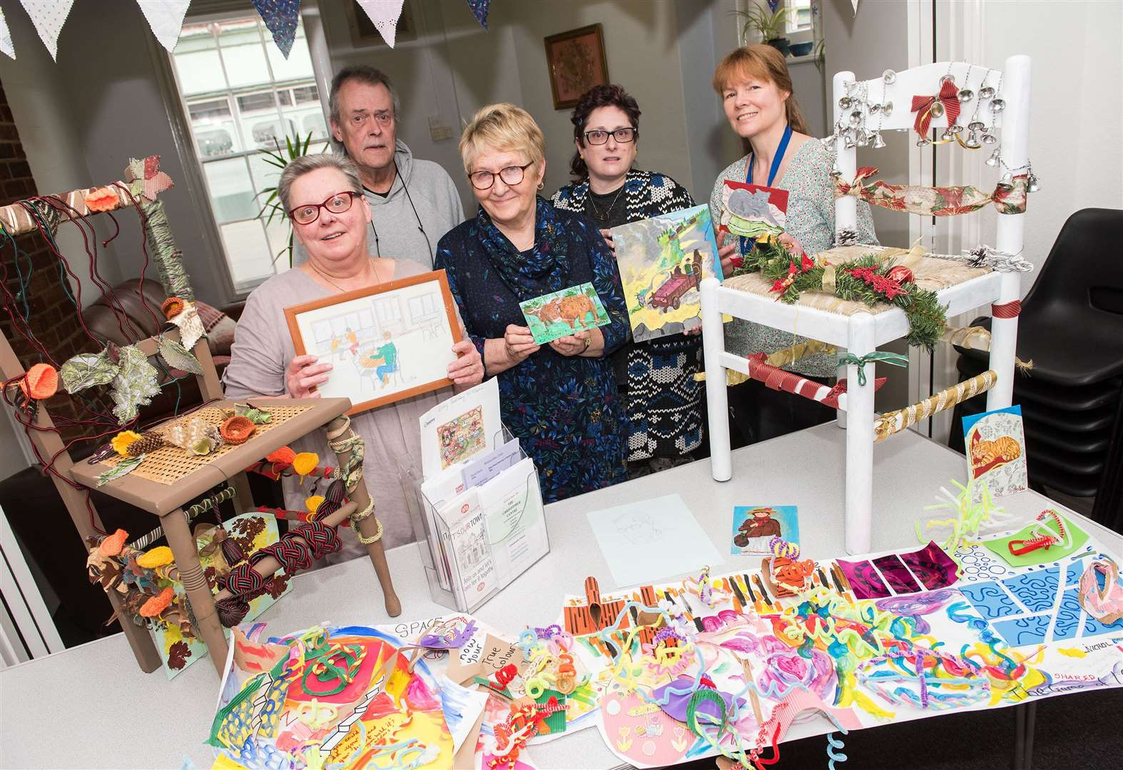FEATURE: C'Art group in Sudbury supports people with mental health difficulties