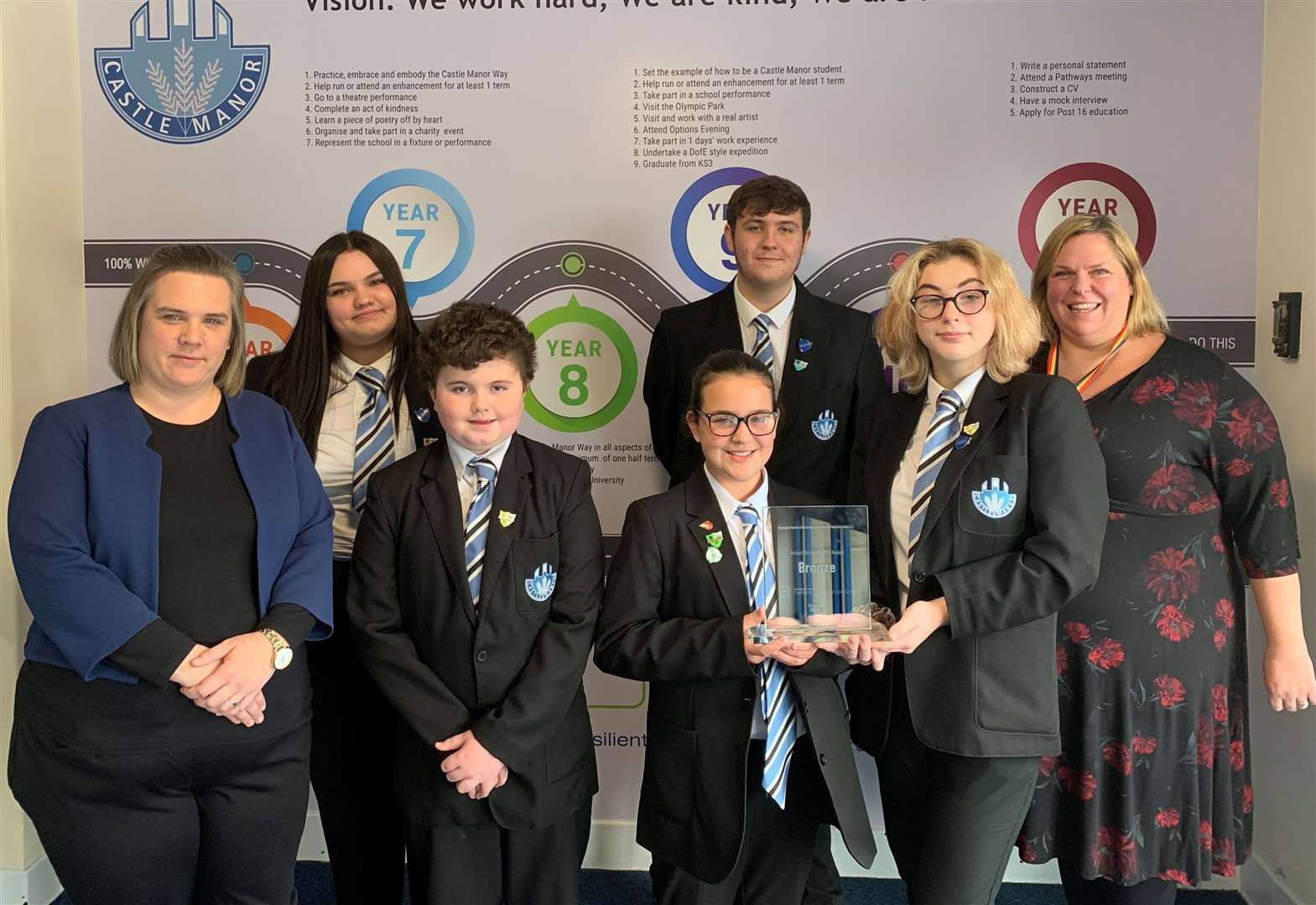 School's focus on mental health support is rewarded