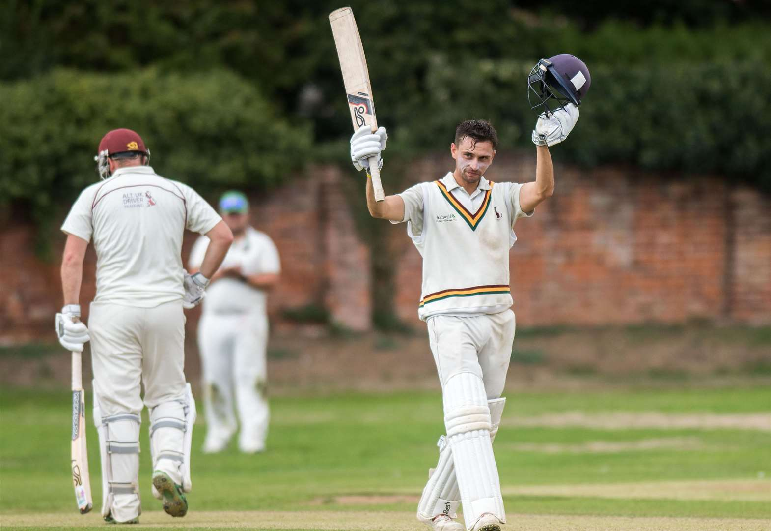 Mansfield's century helps to wrap up second title