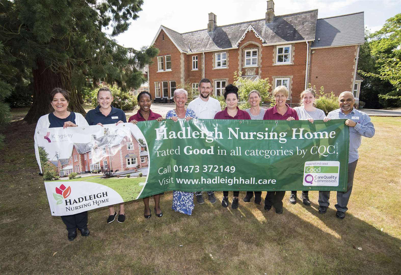 Hadleigh Nursing Home rebounds with strong CQC report