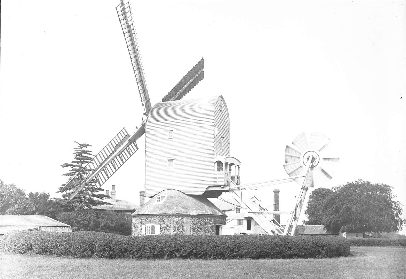 NOSTALGIA: Windmill at Barton Mills