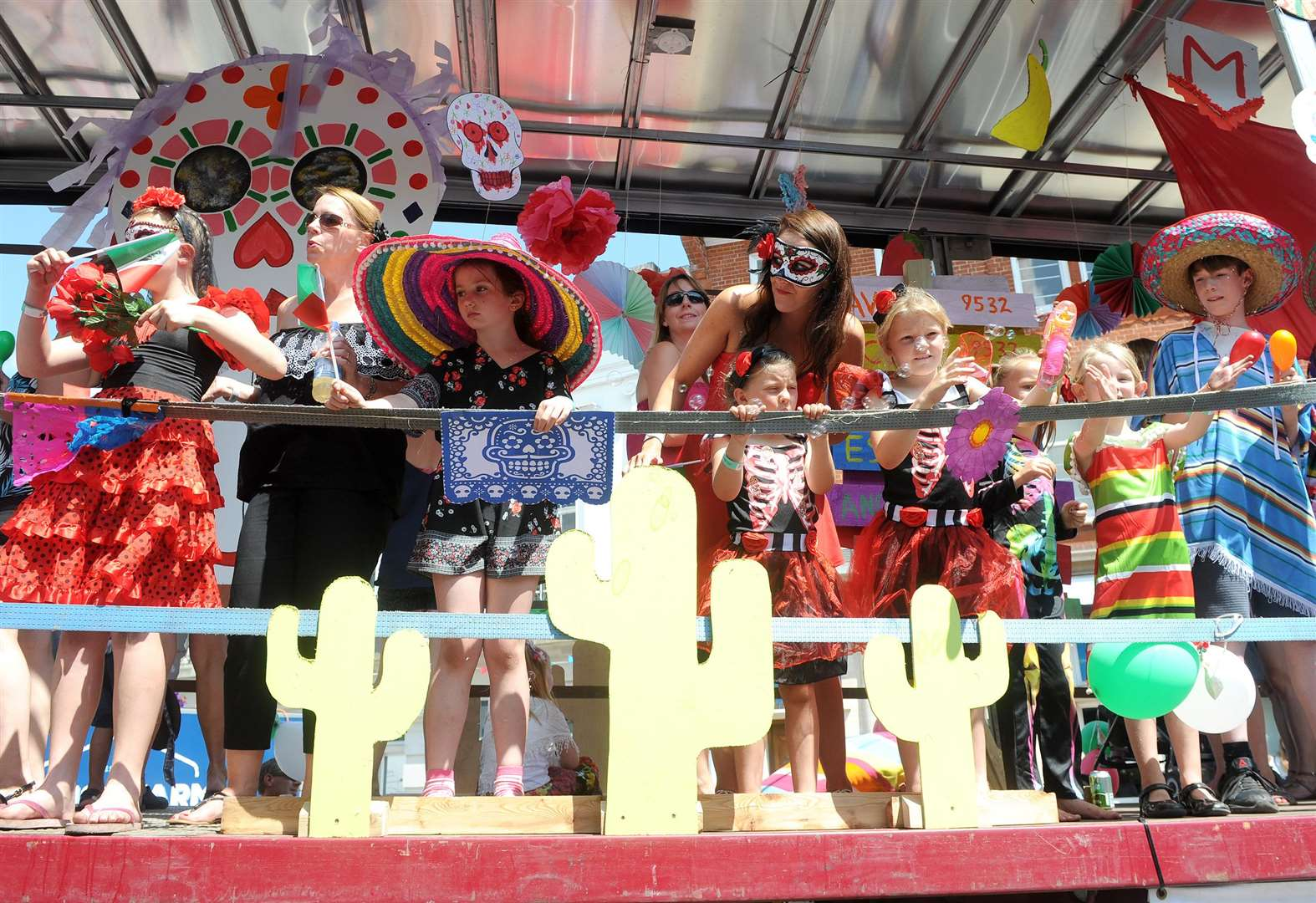 Carnival takes town around the world