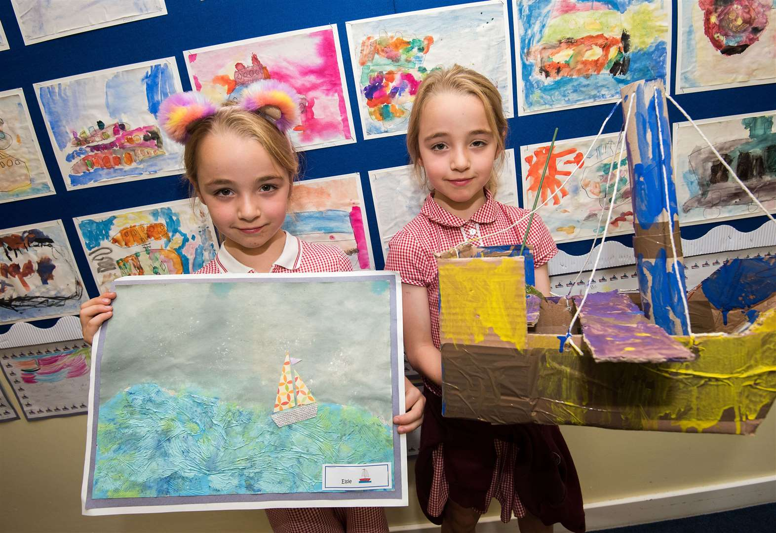 PICTURES: National Gallery inspires art exhibition at Sudbury school