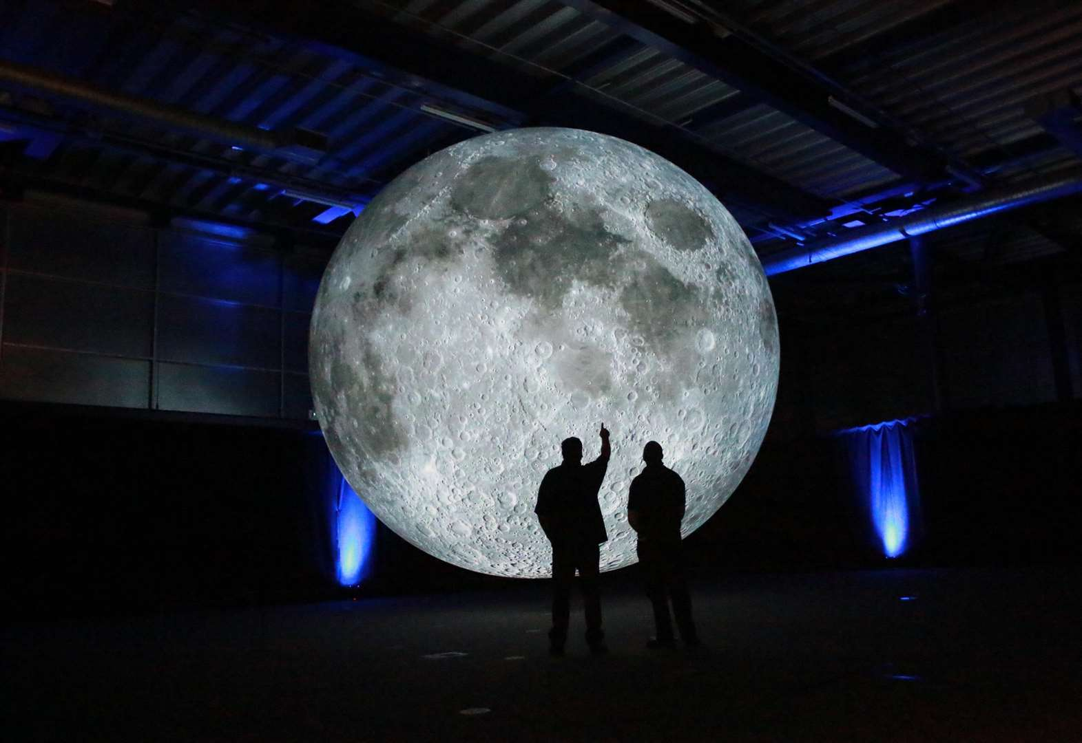 Seven metre moon sculpture coming to The Apex