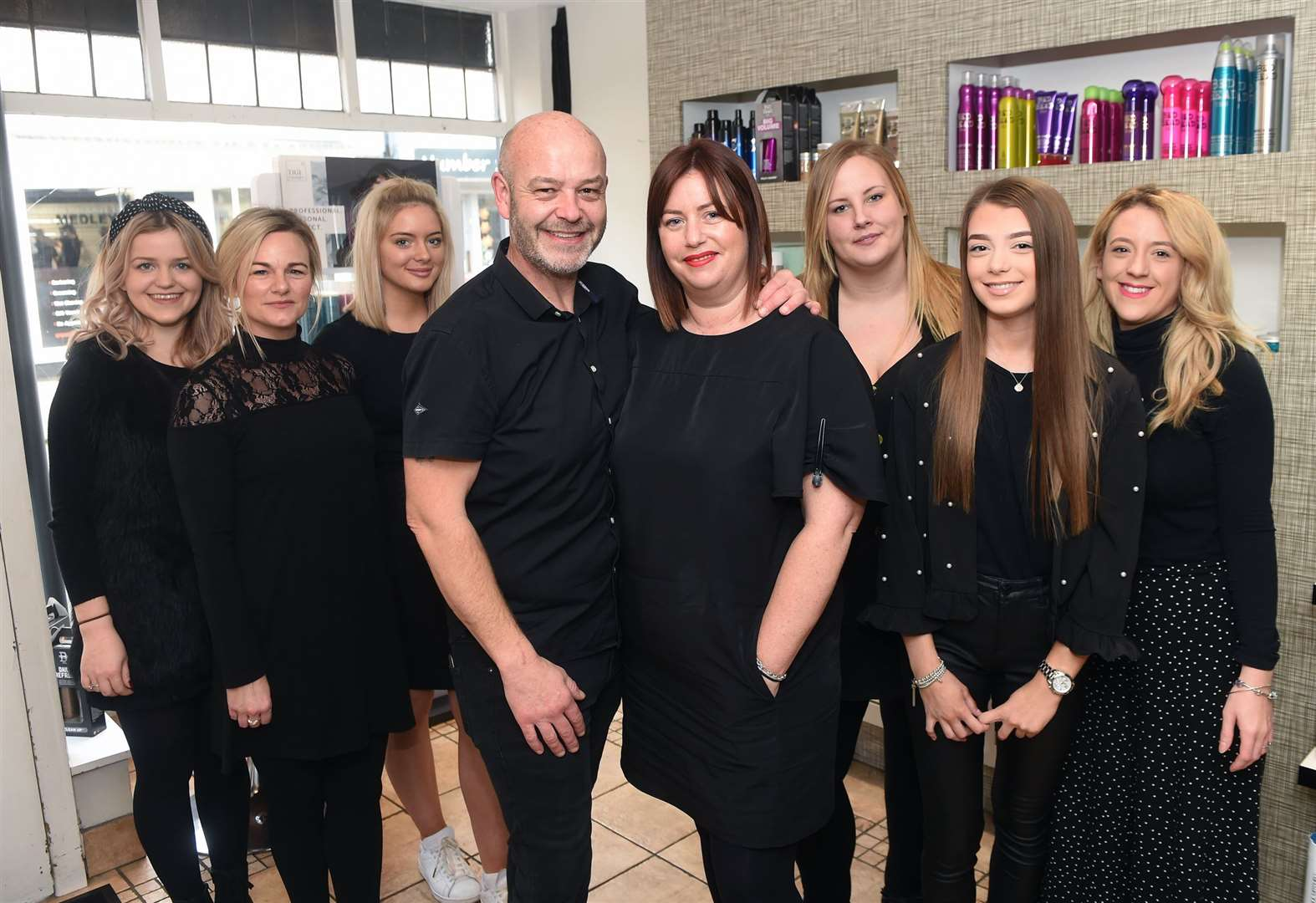 Fatal Attraction Hair Design in Sudbury marks 30th anniversary with tribute to Arran Tosh