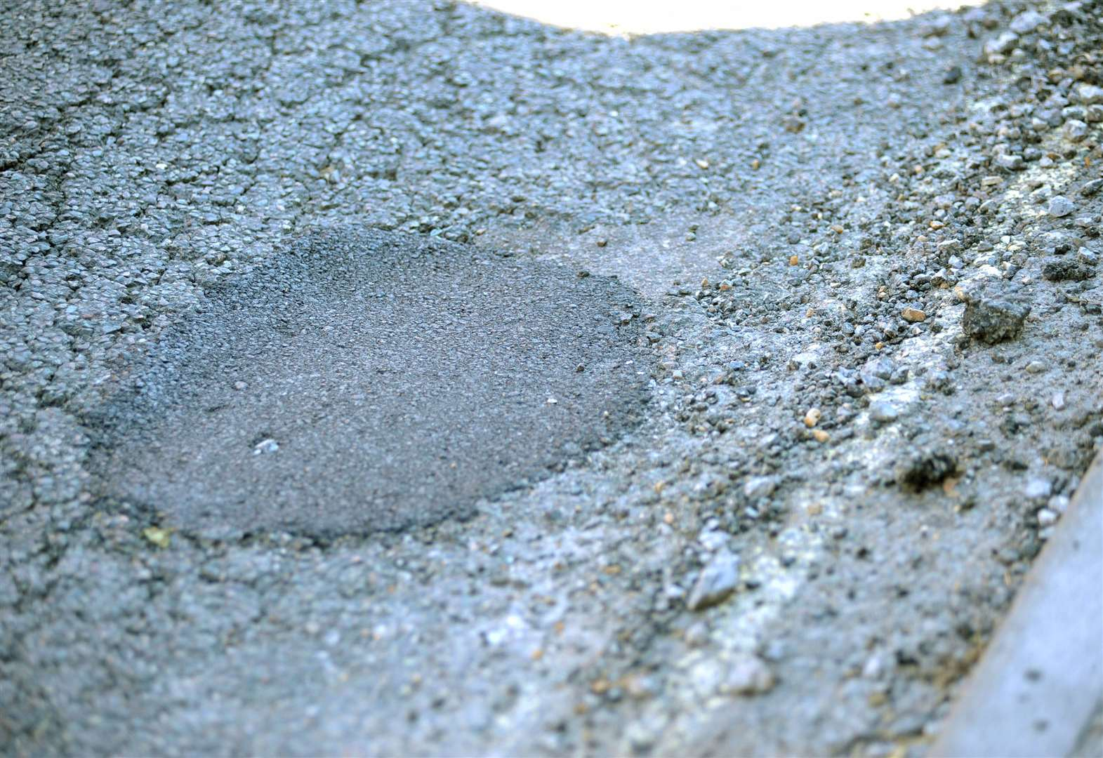 Suffolk's crumbling roads account for more than a third of a county council's complaints