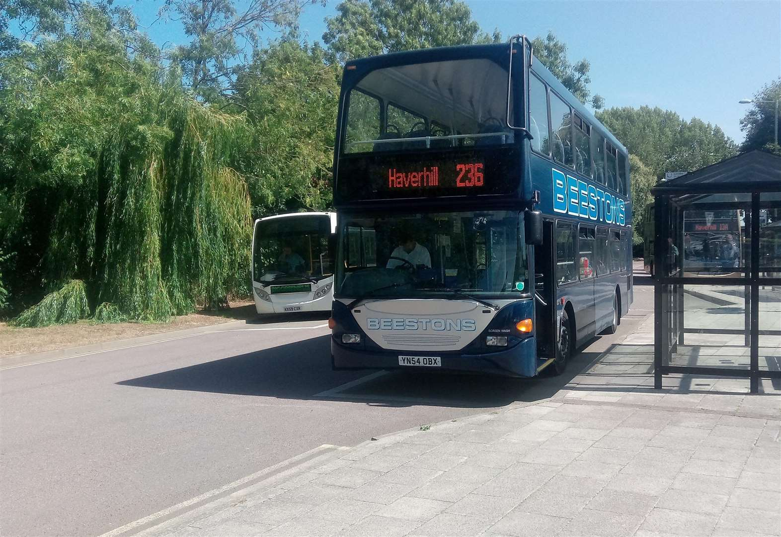 Under threat Haverhill to Clare bus service is saved