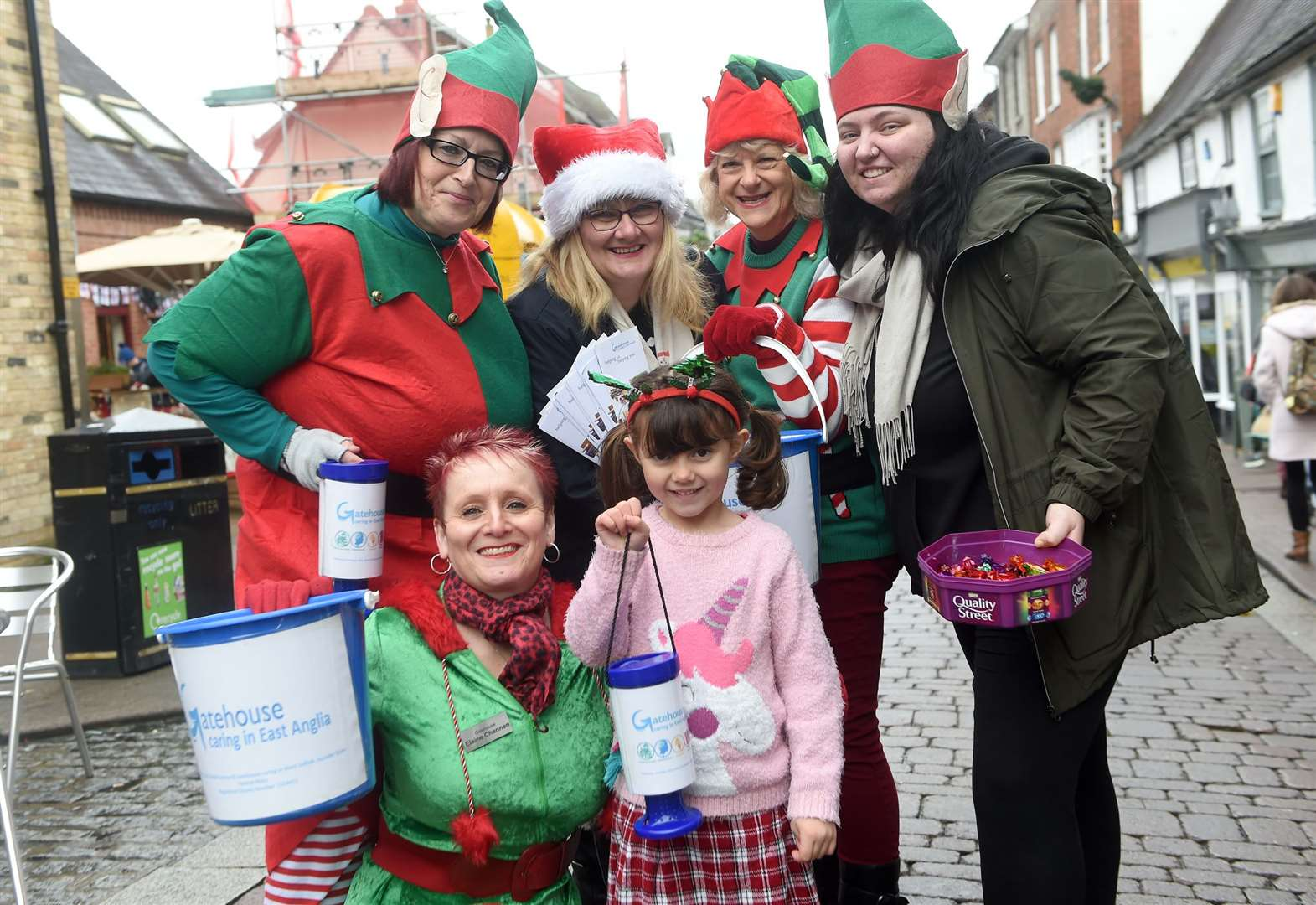 Crowds of 130,000 attended Bury Christmas Fayre