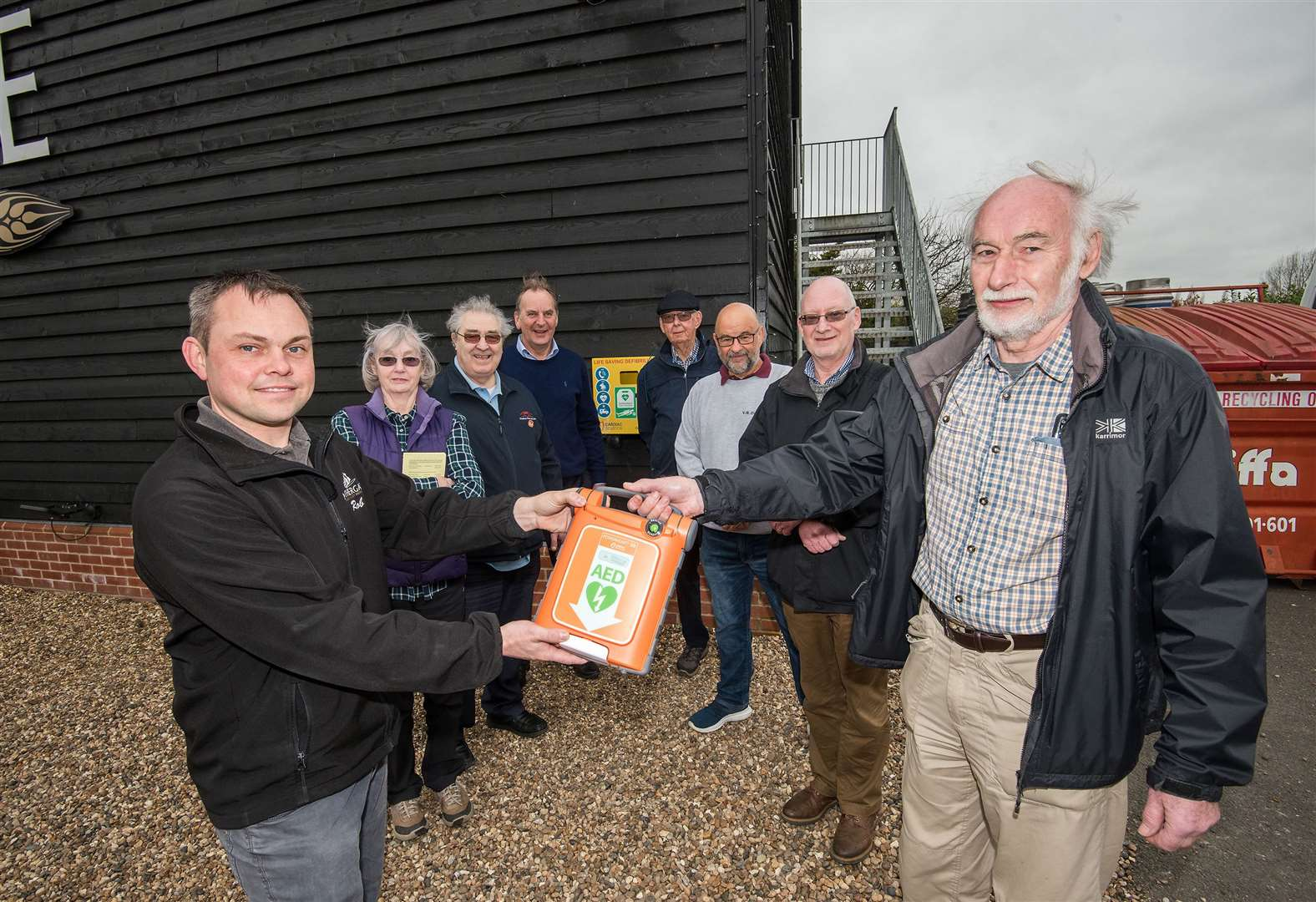 Nethergate Brewery installs life-saving equipment at its site in Long Melford