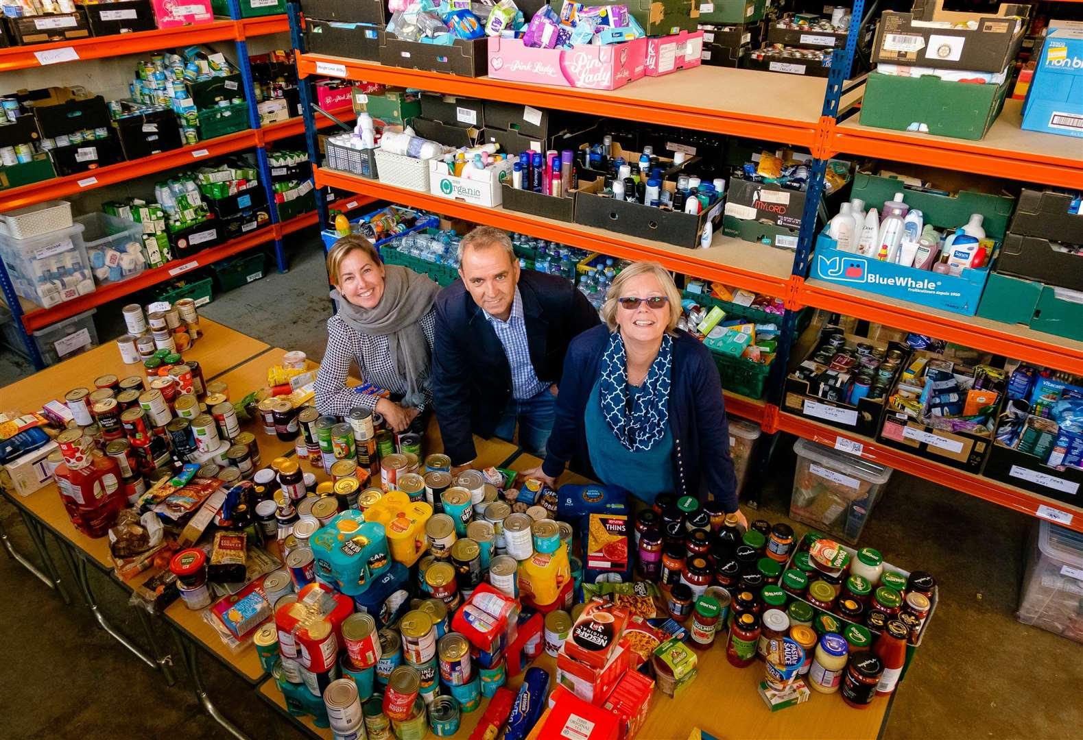 Haverhill Foodbank thanks community after 'amazing' response to Harvest Festival Appeal