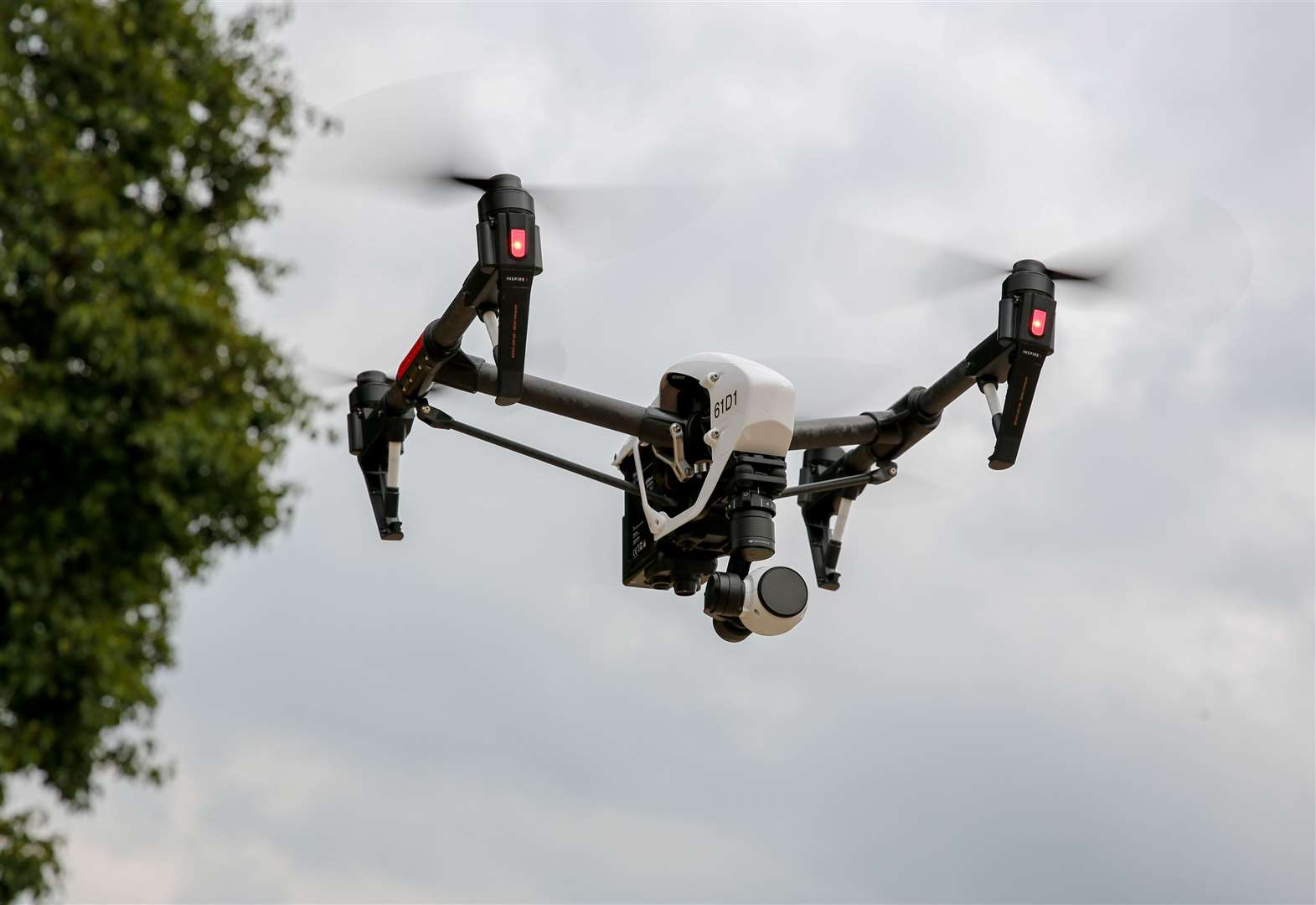 Drone used in night-time search for 'high risk' missing man