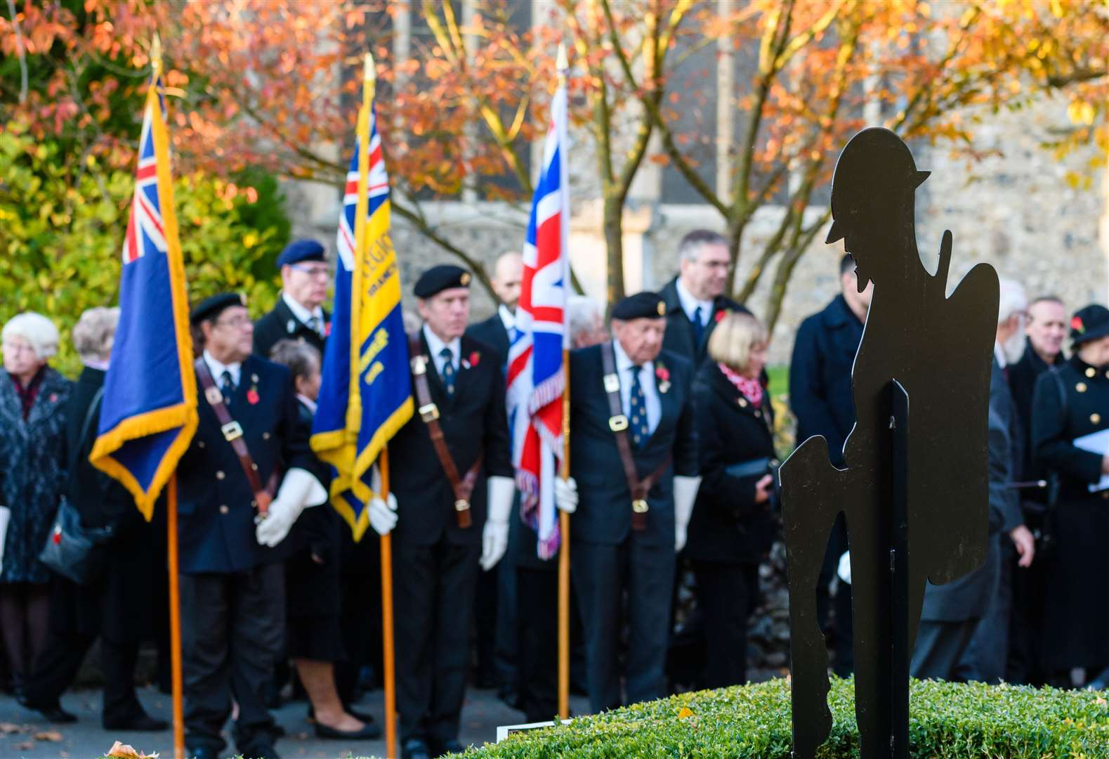 PICTURES: Sudbury reflects on sacrifice of war heroes on Remembrance Sunday