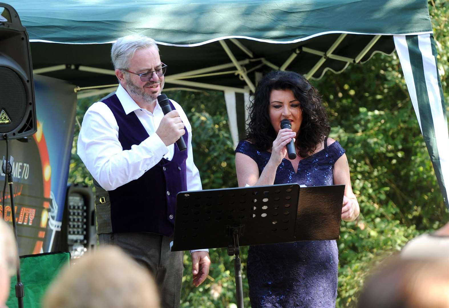 Long Melford Country Park treated to musical extravaganza