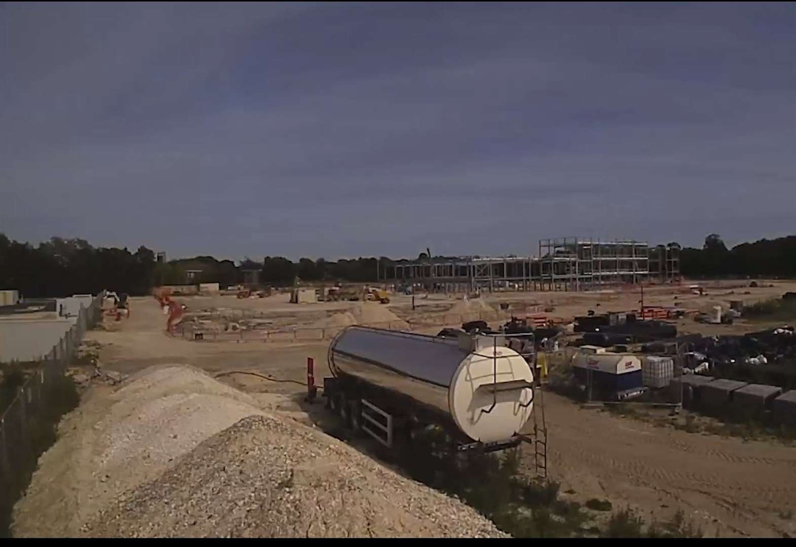 Watch stunning time-lapse footage of Mildenhall Hub's construction
