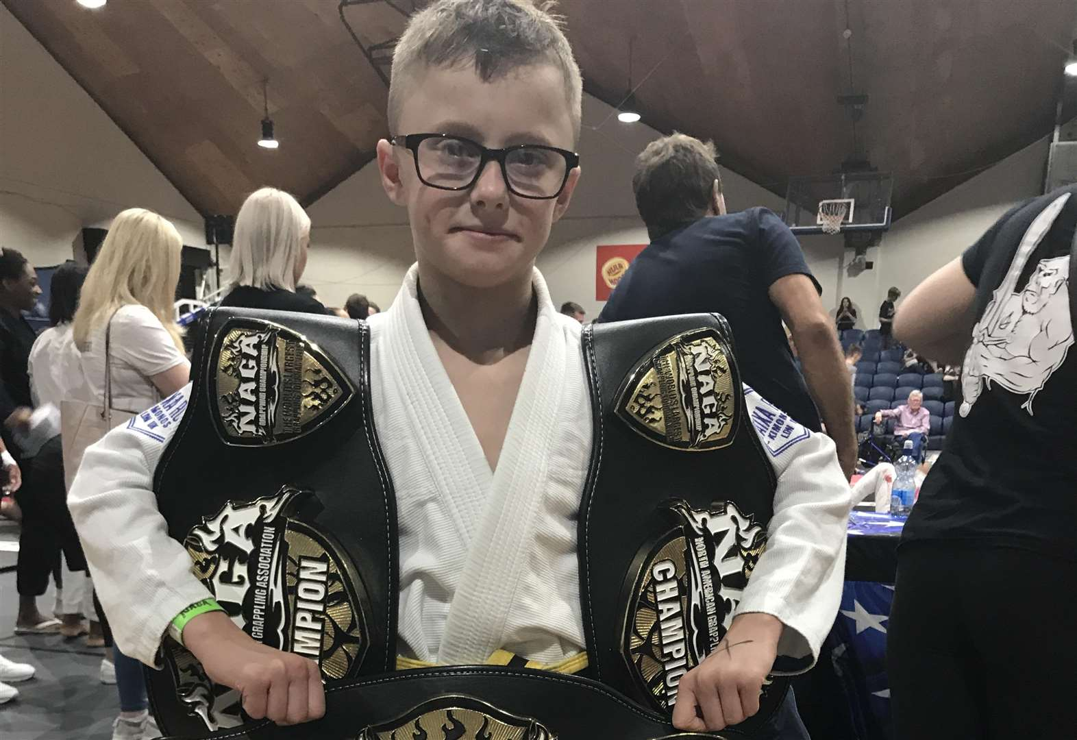 Joe wins three titles at Irish championships