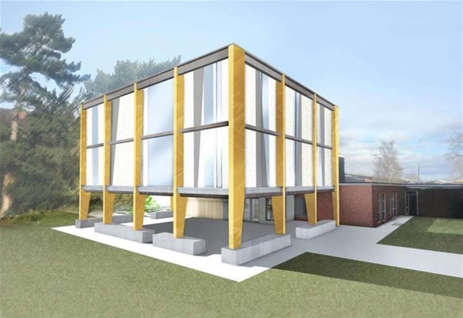 Work starts on Newmarket Academy's new library