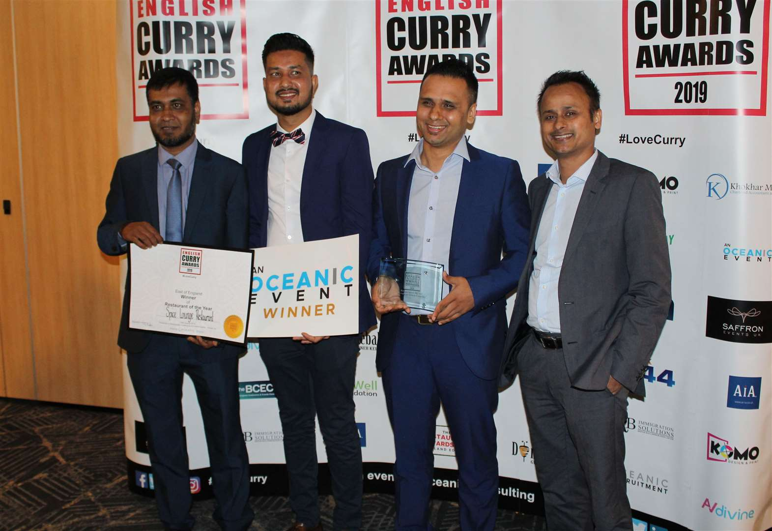This Indian restaurant has been named the best in England