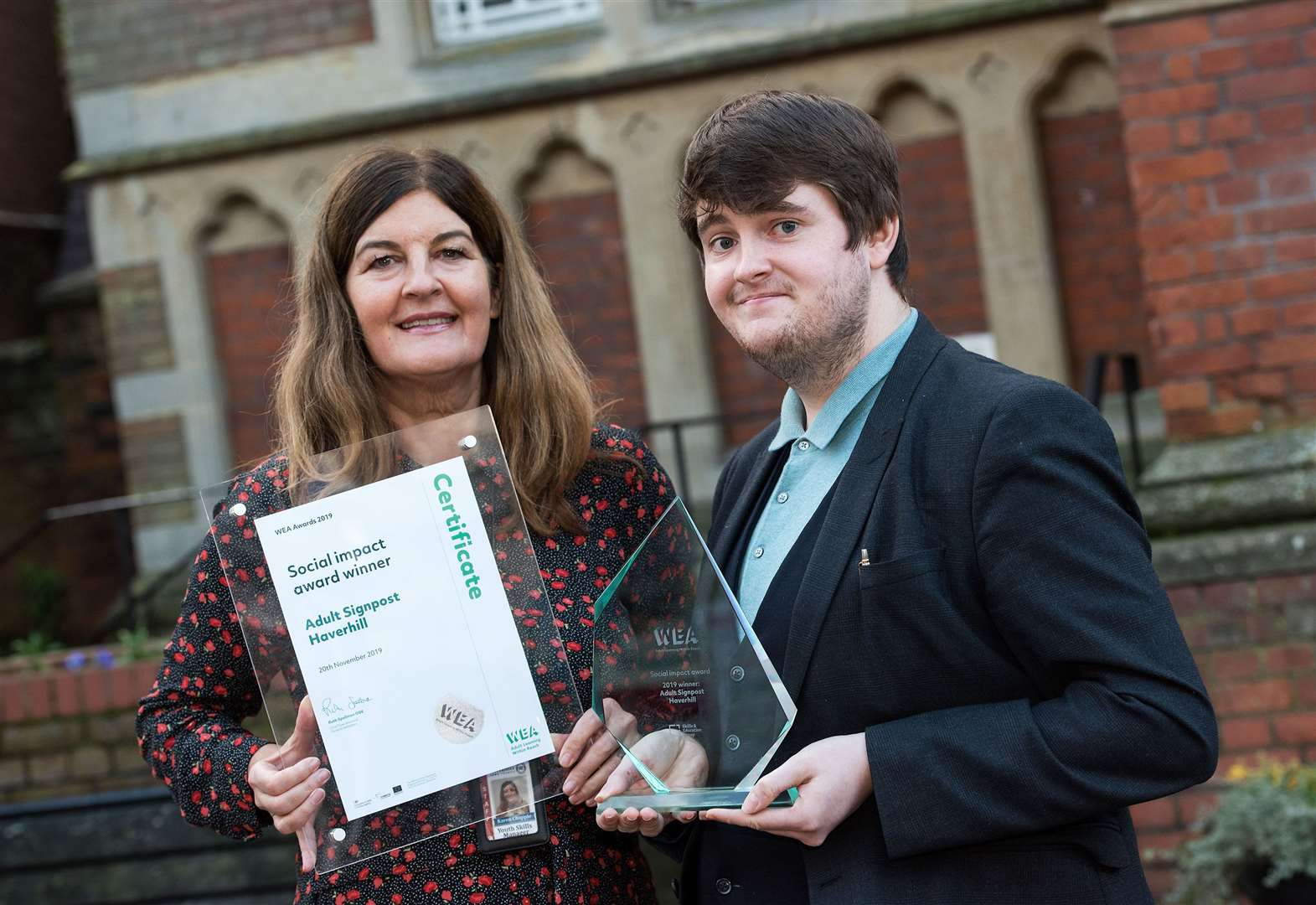 Haverhill project helping at risk adults is hailed as the best at national awards