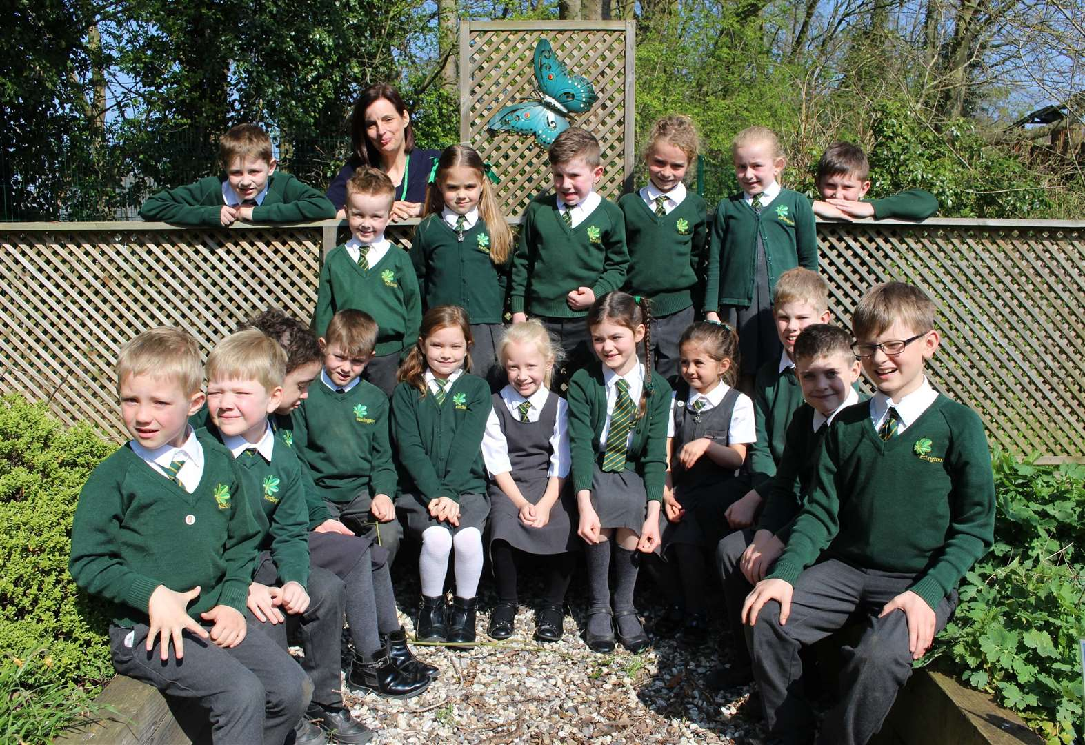 'Happy' classrooms help earn school a 'good' Ofsted