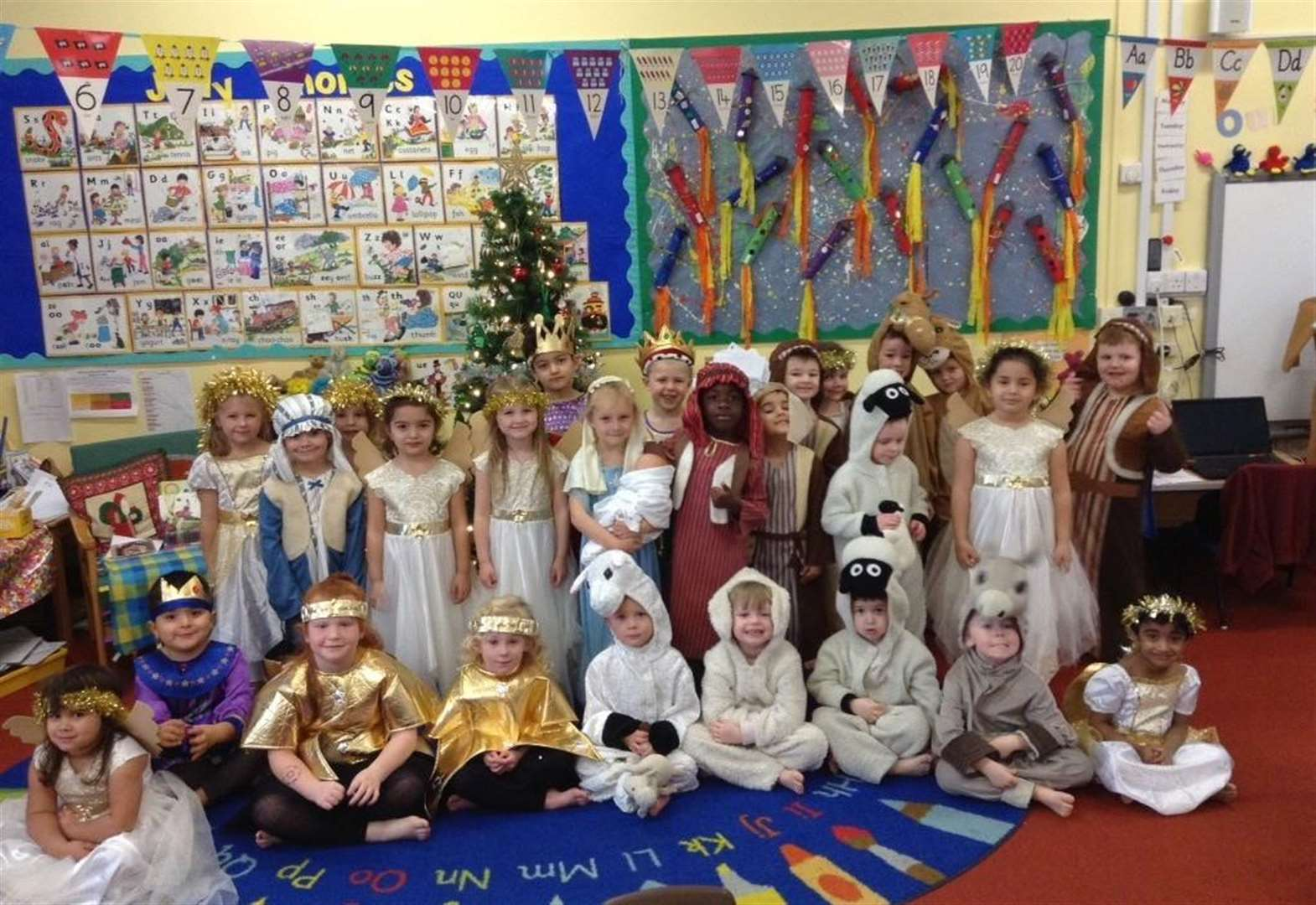 Sudbury children perform Nativity play for almost 200 people at St Peter's