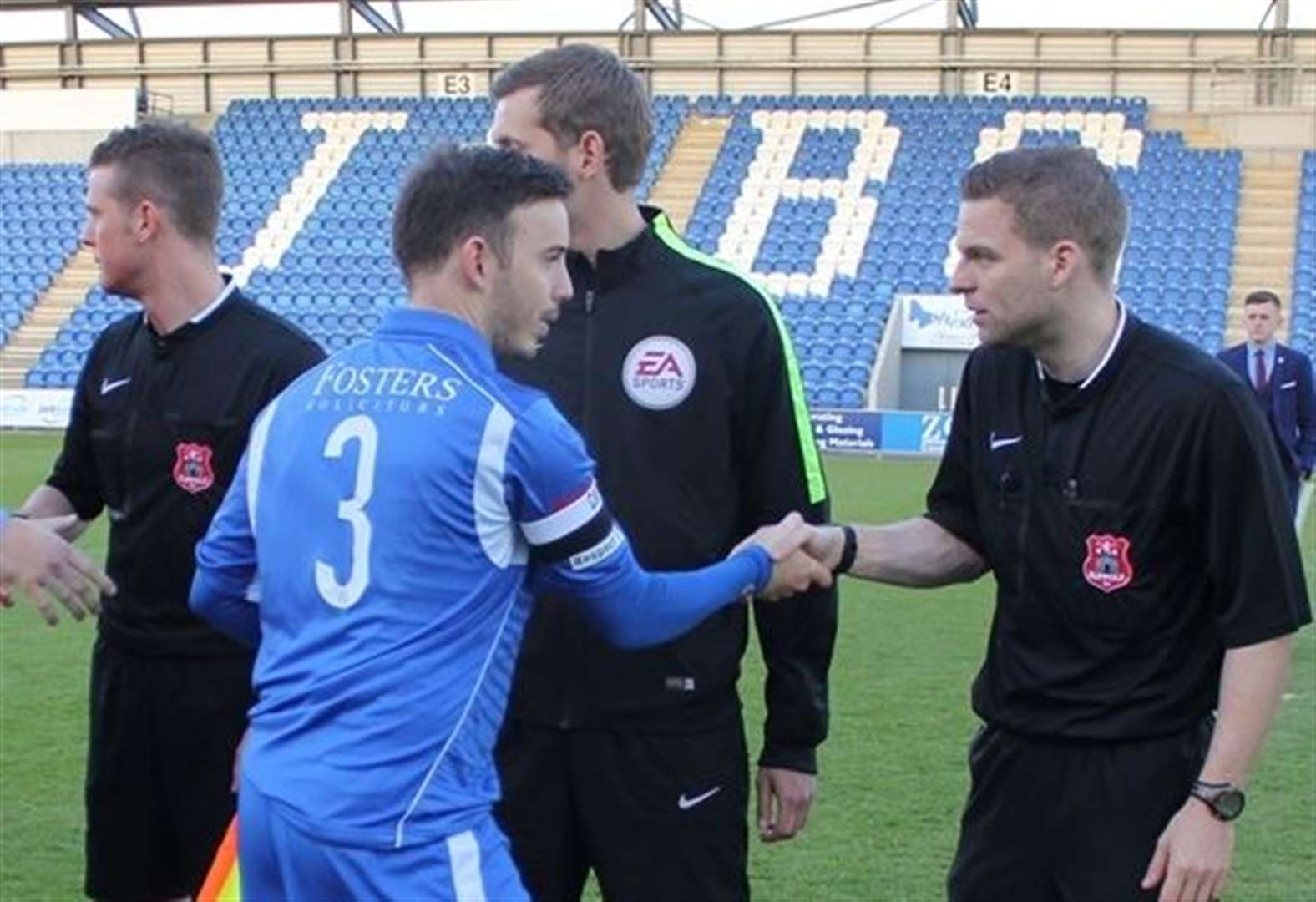 Suffolk referee gets dream promotion to the Football League