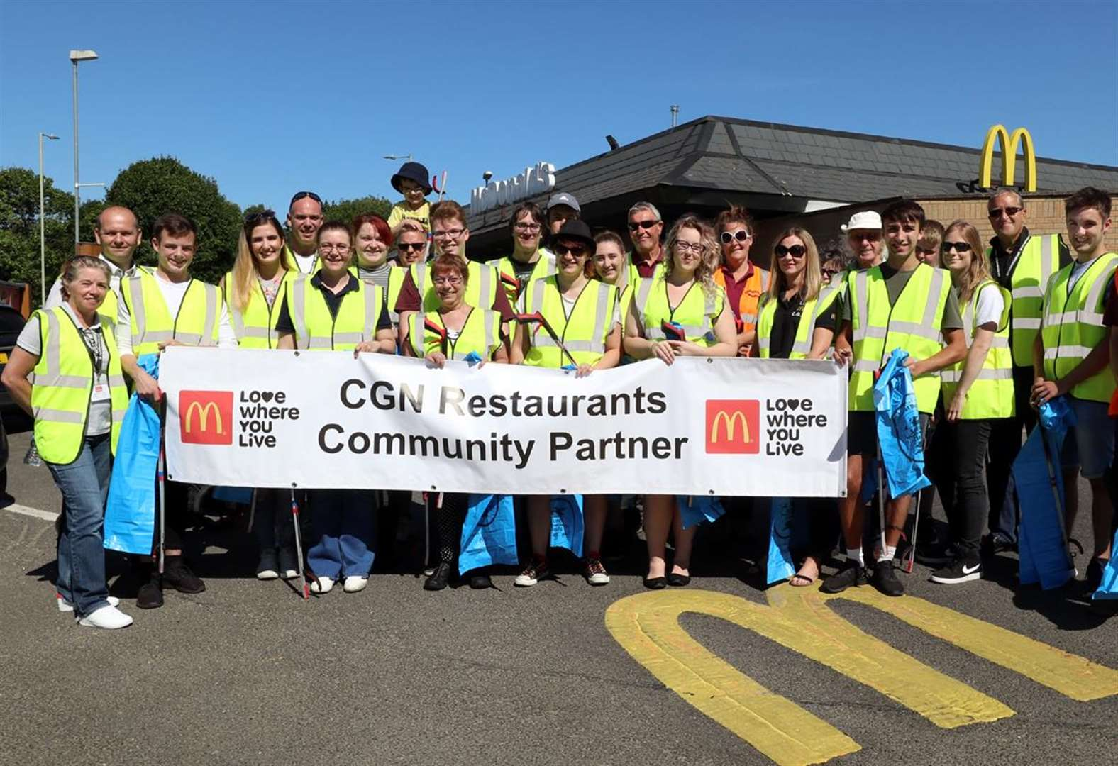 Sudbury restaurant's community litter pick hailed as 'huge success'