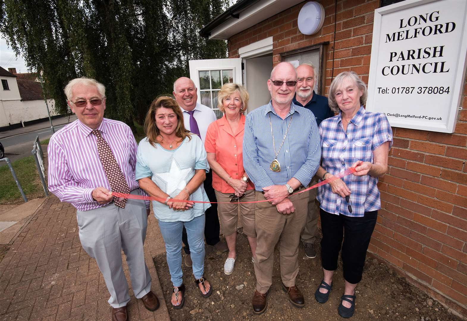 Long Melford Parish Council begins new era after moving into new office