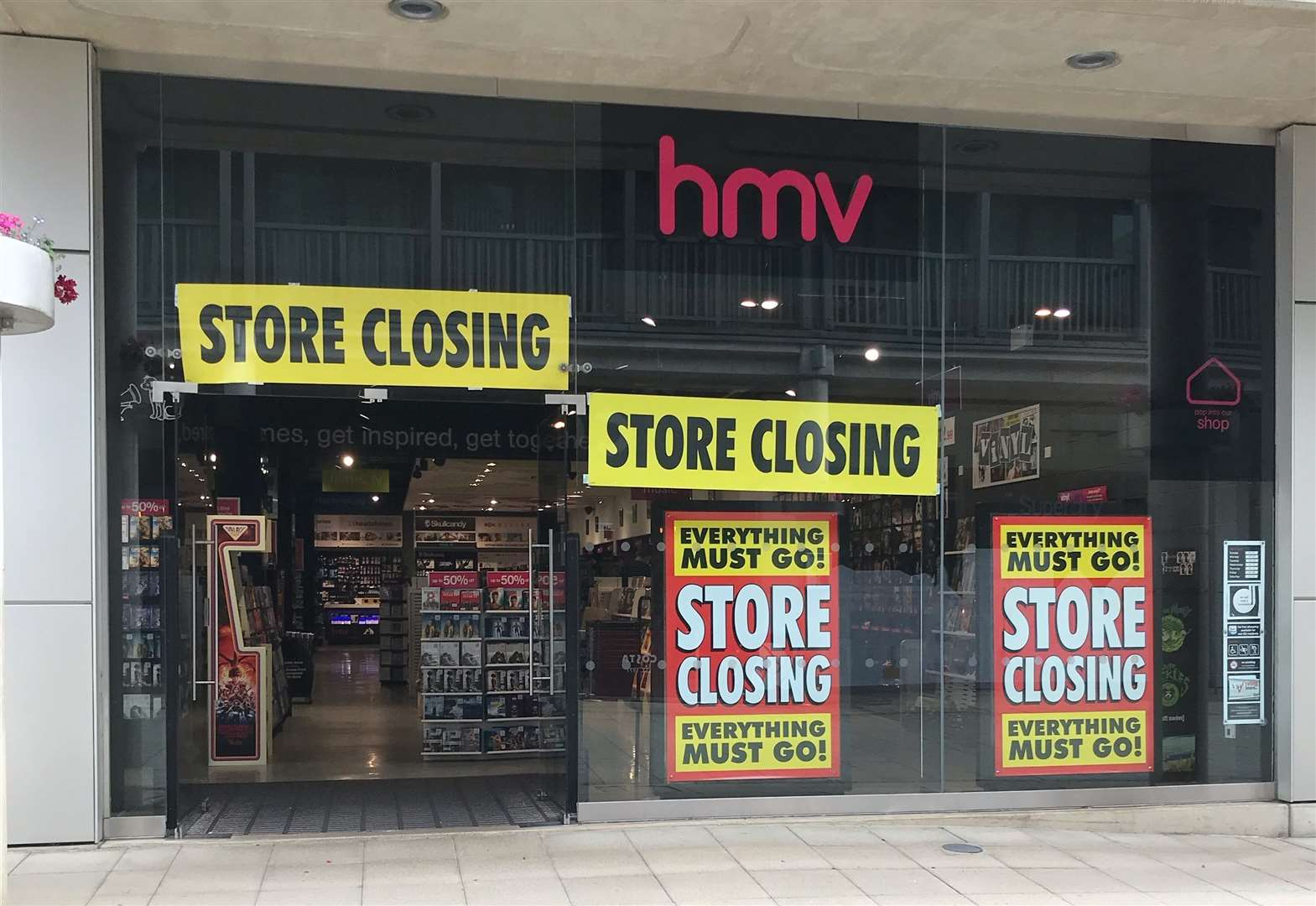 All we know about the future of HMV in Bury St Edmunds