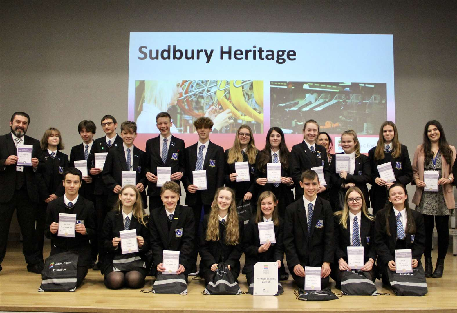 Thomas Gainsborough School becomes first in Suffolk to win Heritage Schools Award