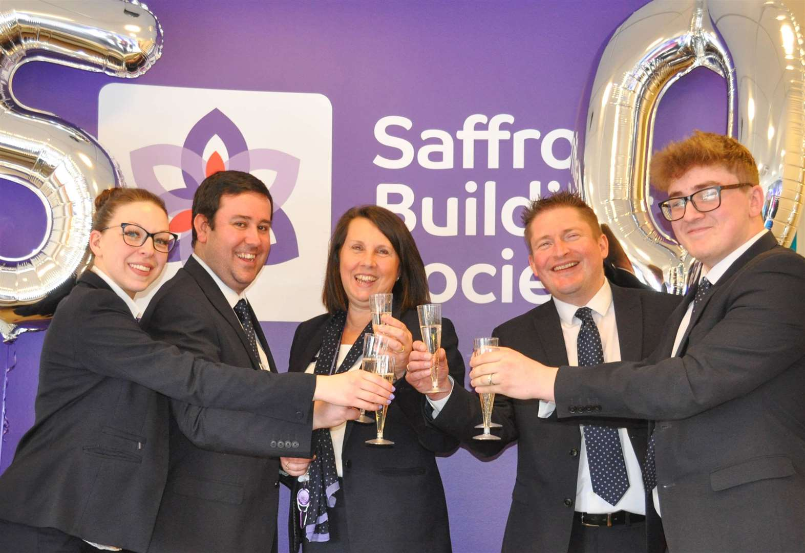 Building society's branch clocks up 50 years in town
