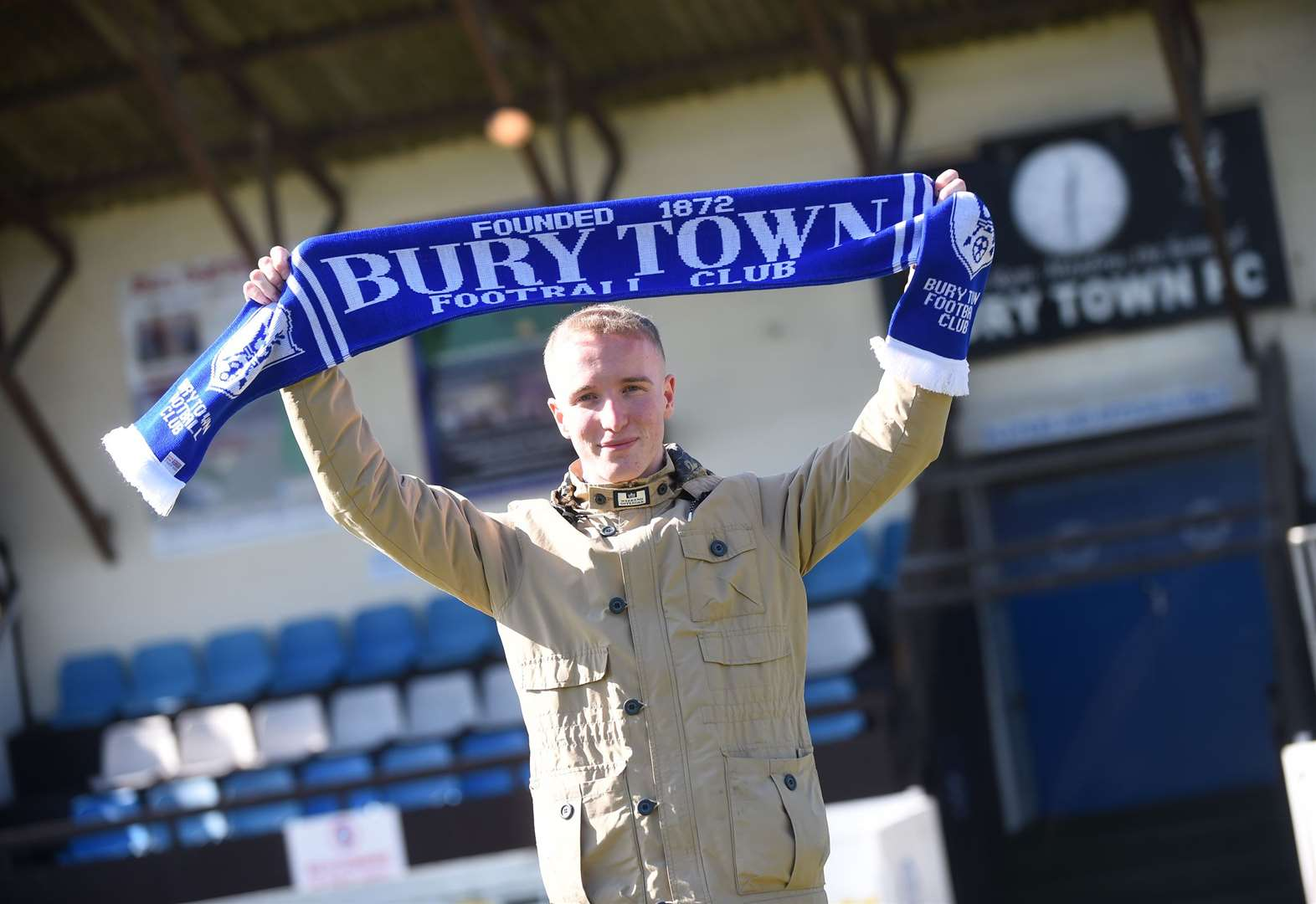 Supporter starts up online fundraiser to help out Bury