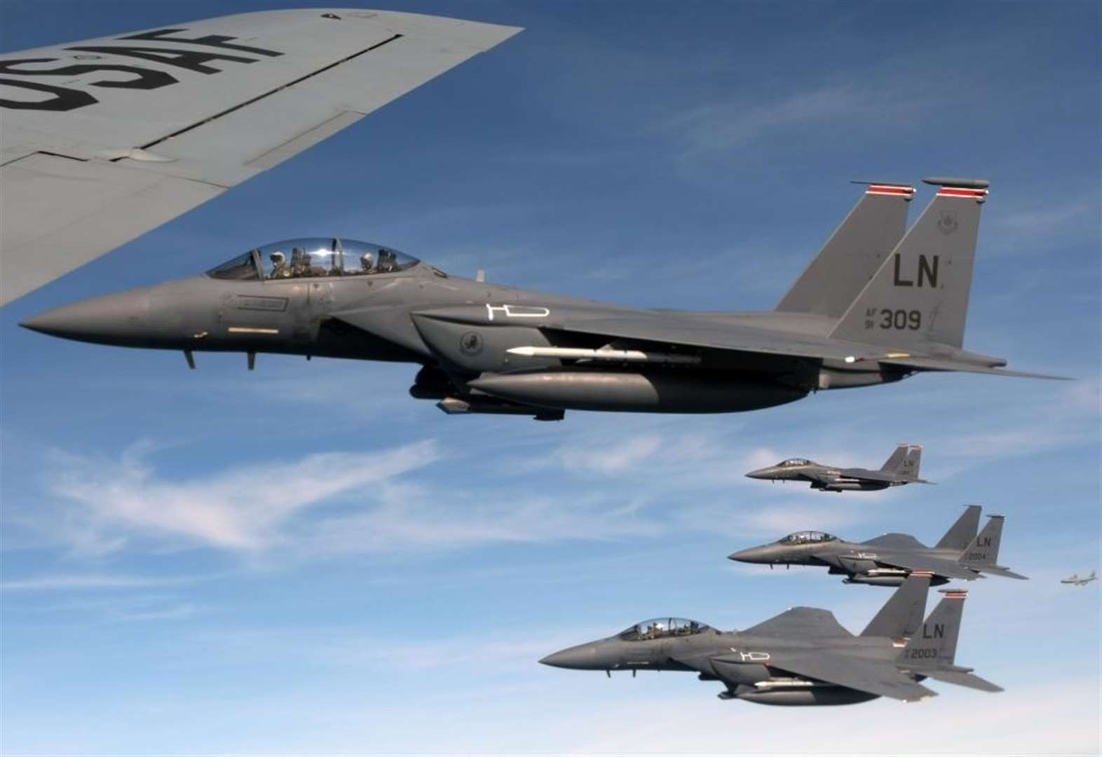 US fast jets will take off at night during 48-hour readiness exercise