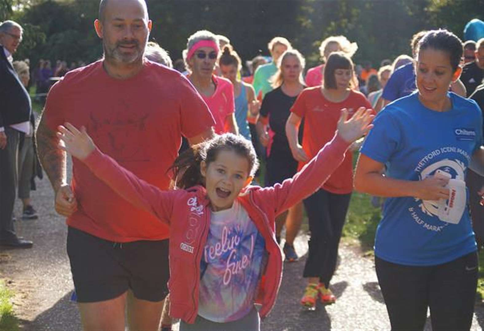 Thetford parkrun sees record numbers to celebrate 300