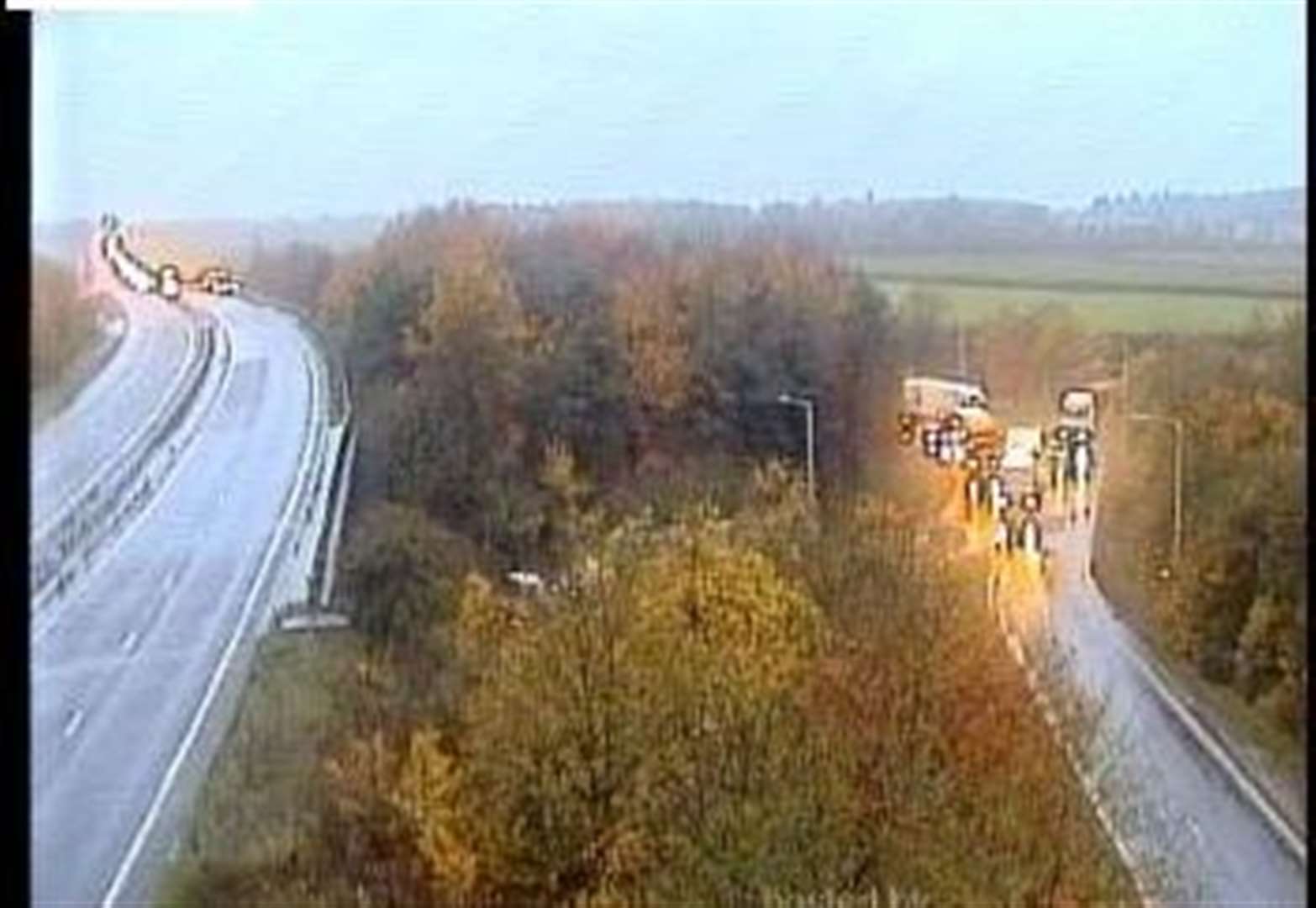 A14 reopens after lorry crash in Bury St Edmunds